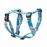 "Dogit Adjustable Harness, 3/4"" x neck: 16-23"" x Chest: 20-28"", Medium, Aloha, Blue, From Hagen"