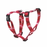 "Dogit Adjustable Harness, 3/4"" x neck: 16-23"" x Chest: 20-28"", Medium, Wild Stripes, Red, From Hagen"
