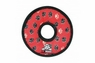 VIP Tuffy Junior Ring-Red Paw Print