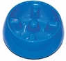 Dogit Go Slow Anti-Gulping Bowl, Blue, Small, From Hagen
