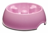 Dogit Go Slow Anti-Gulping Bowl, Pink, Small, From Hagen