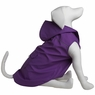 Dogit Hooded Slicker, Purple, Medium, From Hagen