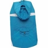 Dogit Hooded Waterproof Raincoat, Sea, Large, From Hagen