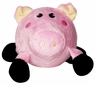 Dogit Luvz Plush Bouncy Toy, Pig Large, From Hagen