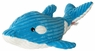 Dogit Luvz Plush Toy, Blue Dolphin, From Hagen