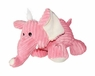 Dogit Luvz Plush Toy, Pink Elephant, From Hagen