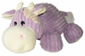Dogit Luvz Plush Toy, Purple Cow, From Hagen
