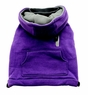 Dogit Mock-Neck Hoodie, purple, large, From Hagen