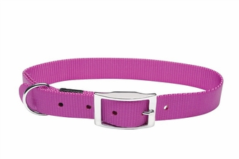 """Dogit Nylon Collar with Buckle - Single Ply 3/4""""x 18"""" purple, From Hagen"""