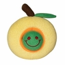 Dogit Plush Worm, Yellow Apple Fruity Toy, From Hagen