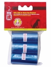 Dogit Replacement Bags for D181, Blue, 3 rolls, From Hagen