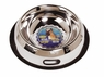 Dogit Stainless Steel Non-Spill Dog Dish, 96 oz, From Hagen