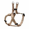 "Dogit Style Adjustable Harness, Body 11-14"", XSmall, Jungle Fever, Beige, From Hagen"