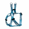 "Dogit Style Adjustable Harness, Body 14-20"", Small, Aloha, Blue, From Hagen"