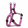 "Dogit Style Adjustable Harness, Body 14-20"", Small, Aloha, Pink, From Hagen"