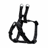 "Dogit Style Adjustable Harness, Body 14-20"", Small, Bones, Black, From Hagen"