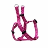 "Dogit Style Adjustable Harness, Body 14-20"", Small, Bones, Pink, From Hagen"