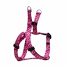 "Dogit Style Adjustable Harness, Body 14-20"", Small, Jungle Fever, Pink, From Hagen"