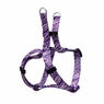 "Dogit Style Adjustable Harness, Body 14-20"", Small, Jungle Fever, Purple, From Hagen"