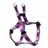 "Dogit Style Adjustable Harness, Body 14-20"", Small, Wild Stripes, Purple, From Hagen"