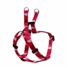 "Dogit Style Adjustable Harness, Body 14-20"", Small, Wild Stripes, Red, From Hagen"