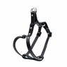 "Dogit Style Adjustable Leather Harness Black, 3/8""x 9-15"" , From Hagen"