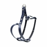 "Dogit Style Adjustable Leather Harness Blue, 3/8""x 9-15"" , From Hagen"