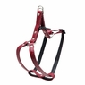 "Dogit Style Adjustable Leather Harness Red, 3/8""x 9-15"" , From Hagen"