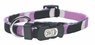 "Dogit Style Adjustable Nylon Collar with plastic snap - Cobra, Purple, X-Small 3/8""x 6""-10"", From Hagen"