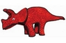 VIP Tuffy Dinosaur Series-Red Triceratops