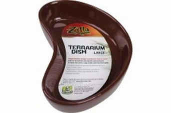 Zilla Terrarium Dish Large 6in