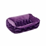 Dogit Style Cuddle Bed, Wild Animal, Purple Small, From Hagen