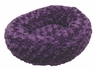 Dogit Style Donut Bed, Rosebud, Purple X-Small, From Hagen