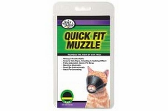 Four Paws Quick Fit Cat Muzzle Small