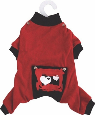 Dogit Style Pyjamas, Red, Small, From Hagen