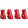 Dogit Style Rain Boots - Red, Size S, From Hagen