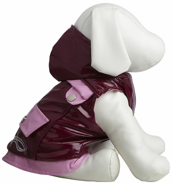 Dogit Style Reversible Butterfly Raincoat, Large, From Hagen