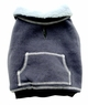 Dogit Sweater with fleece lining, grey, large, From Hagen