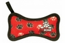 VIP Tuffy Junior Bone-Red Paw Print