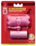 Dogit Waste Bag Holder, Pink Bone, From Hagen