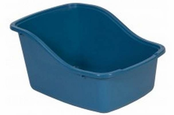 Petmate Hi-back Litter Pan Assorted Jumbo