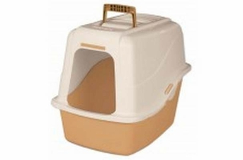 Petmate Hooded Litter Pan Set With Microban Assorted Large