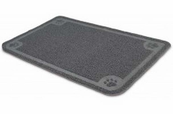 Petmate Litter Catcher Mat Gray Extra-Large