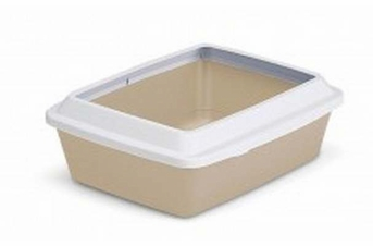 Petmate Litter Pan With Rim Assorted Large