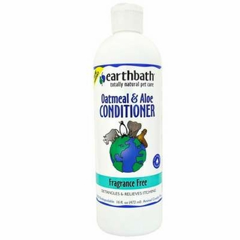 Earthbath Fragrance Free Oatmeal and Aloe Conditioner