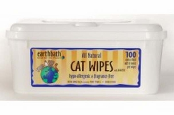 earthbath Hypo-Allergenic Cat Wipes 100ct