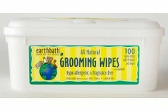 earthbath Grooming Wipes Hypo Allergenic 100ct
