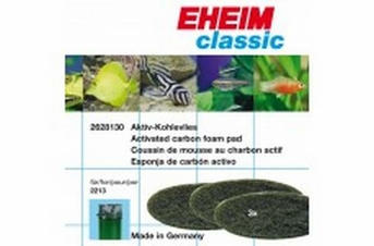 EHEIM Activated Carbon black Filter Pad for 2213 3pc