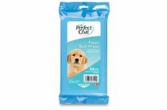 8 in 1 Perfect Coat Bath Wipes Puppy 24ct