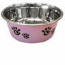 Ethical Pet Barcelona Pet Dish, 8-Ounce, Pearlized Amethyst